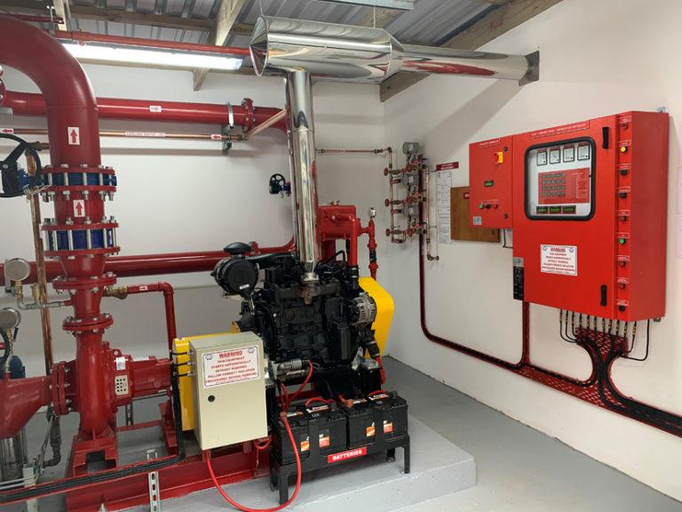 NPS Fire Pump installation